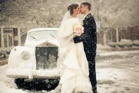 snowwedding
